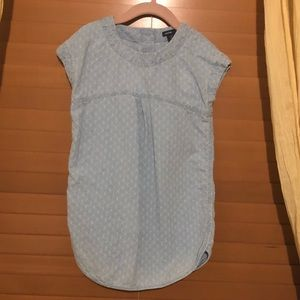 Baby Gap Faded Blue Casual Dress